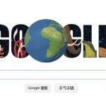 Google Doodles 世界地球日测验